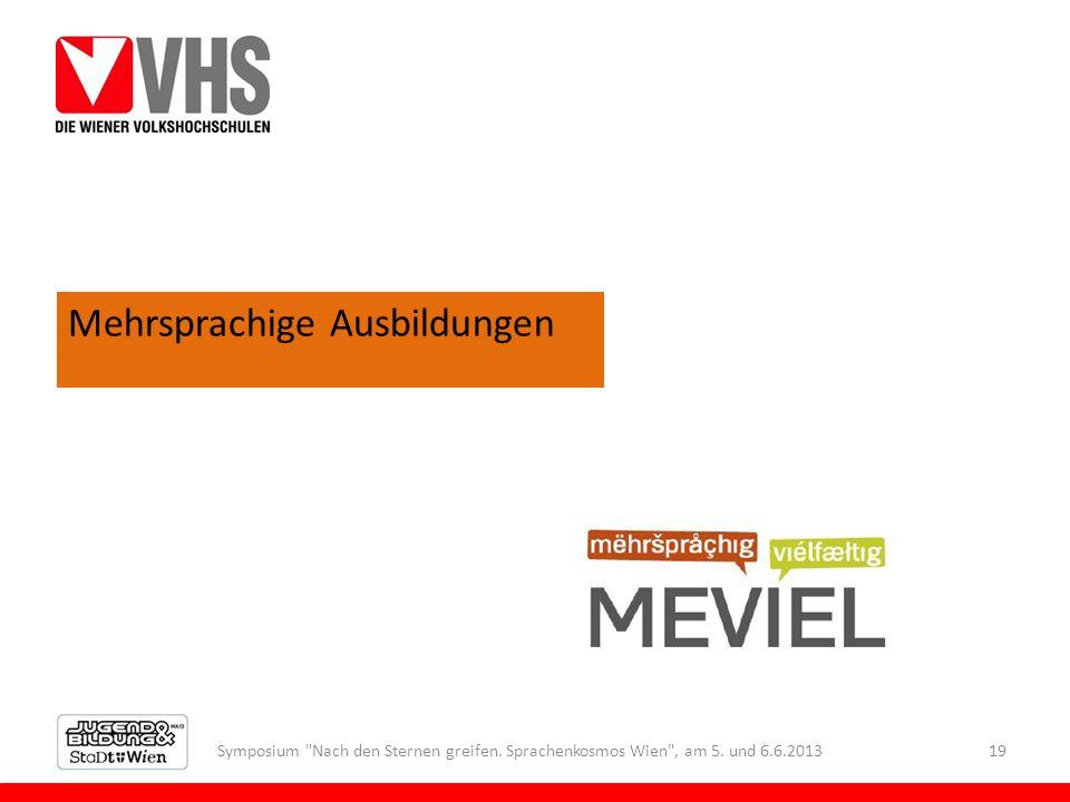 Symposium Nach den Sternen greifen. Sprachenkosmos Wien , am 5.