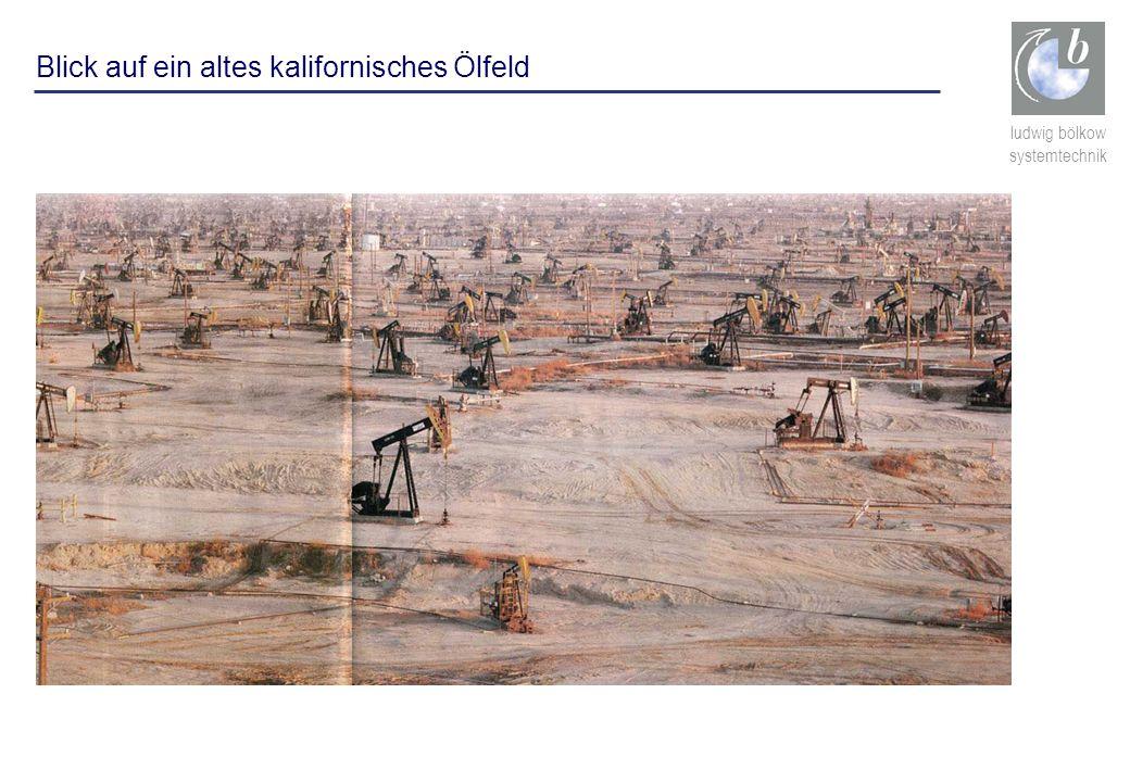 ludwig bölkow systemtechnik California-Bild Blick auf ein altes kalifornisches Ölfeld