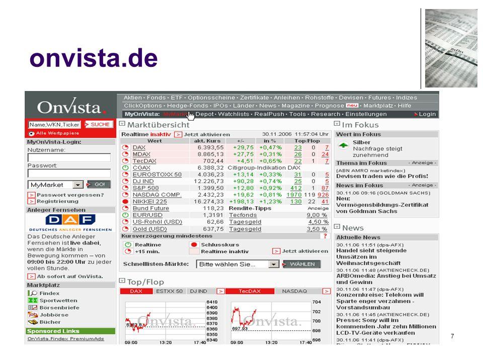78 Handel – Wertpapierkauf Demokonto