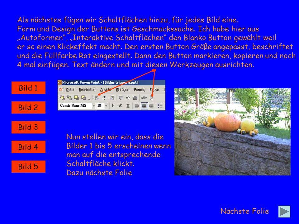 Wieder alle Bilder gleichzeitig Markieren (spart Arbeit) und über Effekte hinzufügen, Eingang eine Eingangsanimation zuweisen.