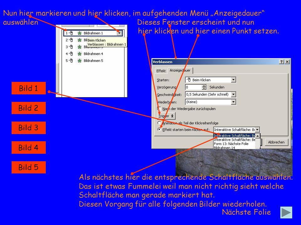 Bild 1 Sollte unter Benutzerdefinierte Animation nun so aussehen Nun wird es etwas schwieriger.