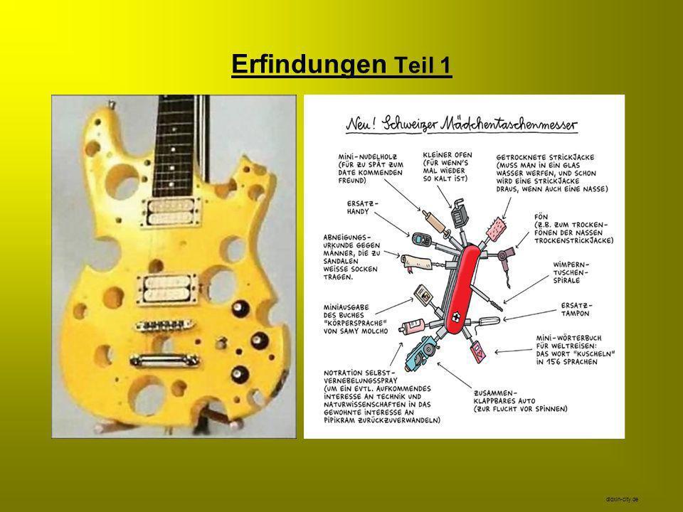 Erfindungen Teil 1 dioxin-city.de