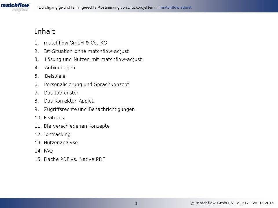 Die matchflow GmbH & Co.