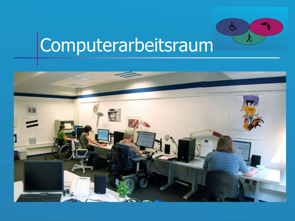 Computerarbeitsraum