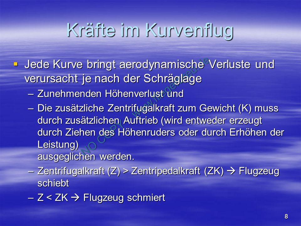 NO COPY – www.fliegerbreu.de 9 Lastvielfaches Das Lastvielfache ist ein Faktor, um welches das Normalgewicht größer ist, oder um wieviel die auftretende Beschleunigung größer ist.