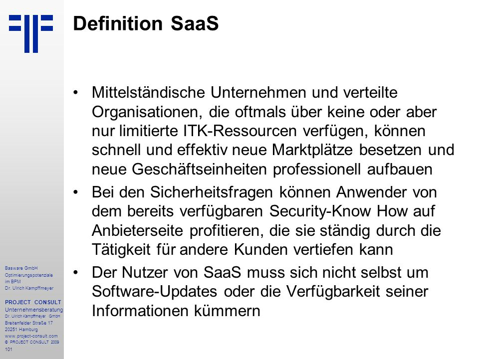 101 Basware GmbH Optimierungspotenziale im BPM Dr.