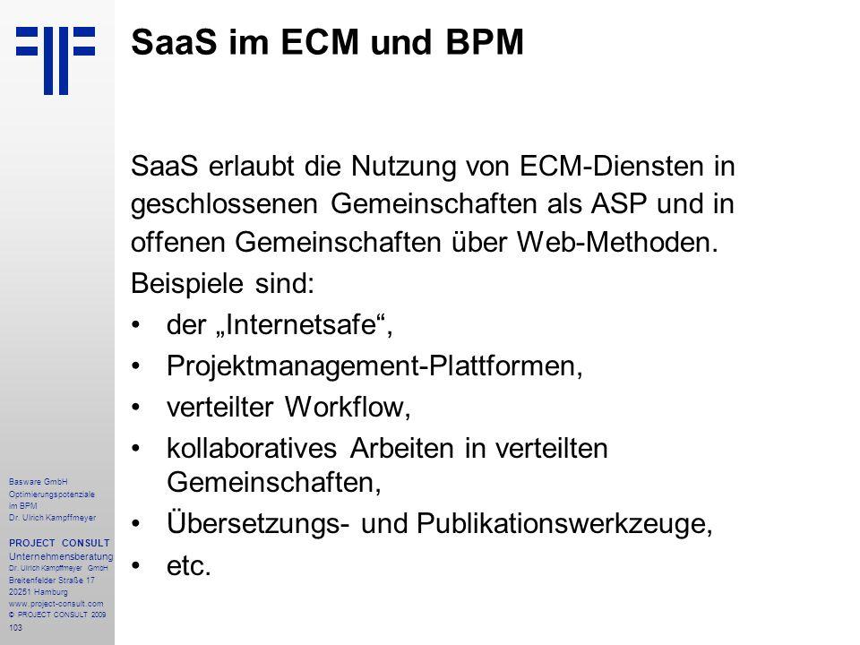 103 Basware GmbH Optimierungspotenziale im BPM Dr.