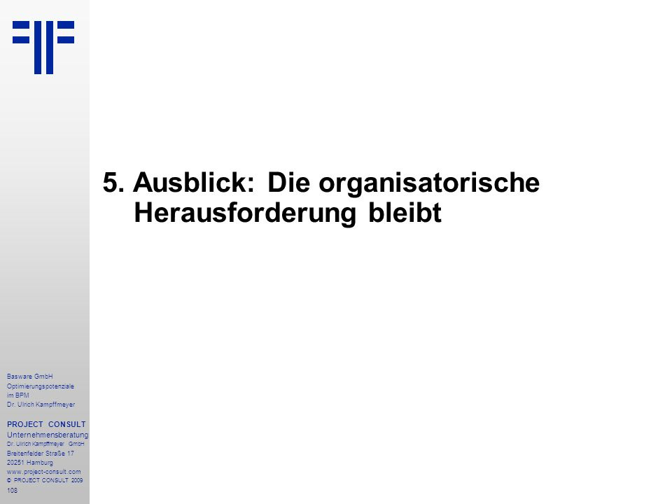 108 Basware GmbH Optimierungspotenziale im BPM Dr.