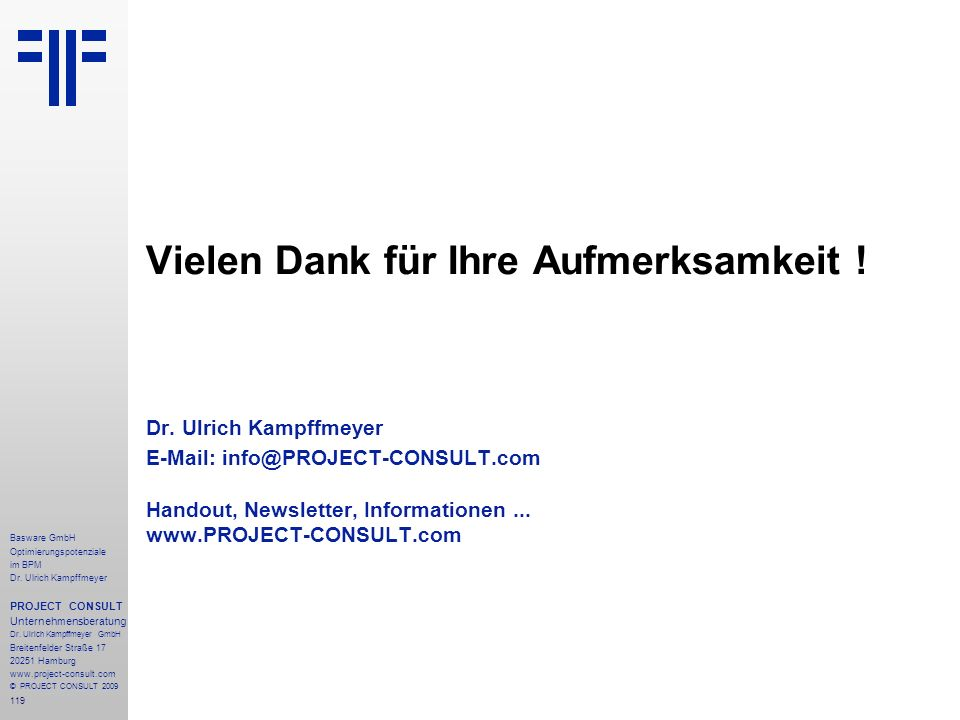 119 Basware GmbH Optimierungspotenziale im BPM Dr.