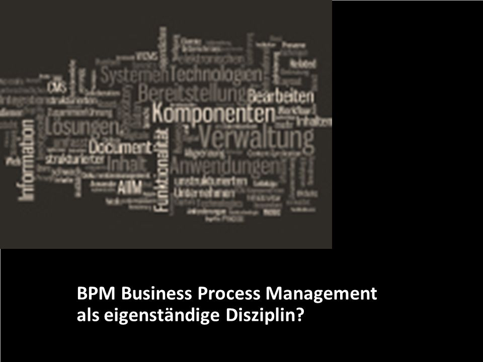 18 Basware GmbH Optimierungspotenziale im BPM Dr. Ulrich Kampffmeyer PROJECT CONSULT Unternehmensberatung Dr. Ulrich Kampffmeyer GmbH Breitenfelder St