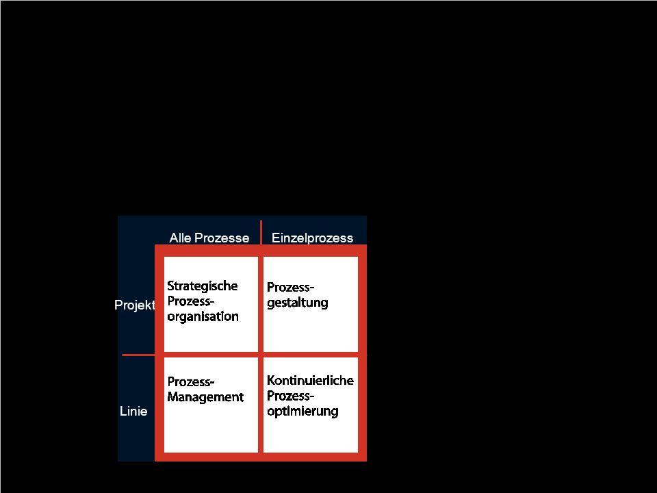 29 Business Process Management als Quadrant BPM ist ein ganzheitlicher Ansatz, alle Geschäftsprozesse konsequent auf die Unternehmensstrategie auszuri