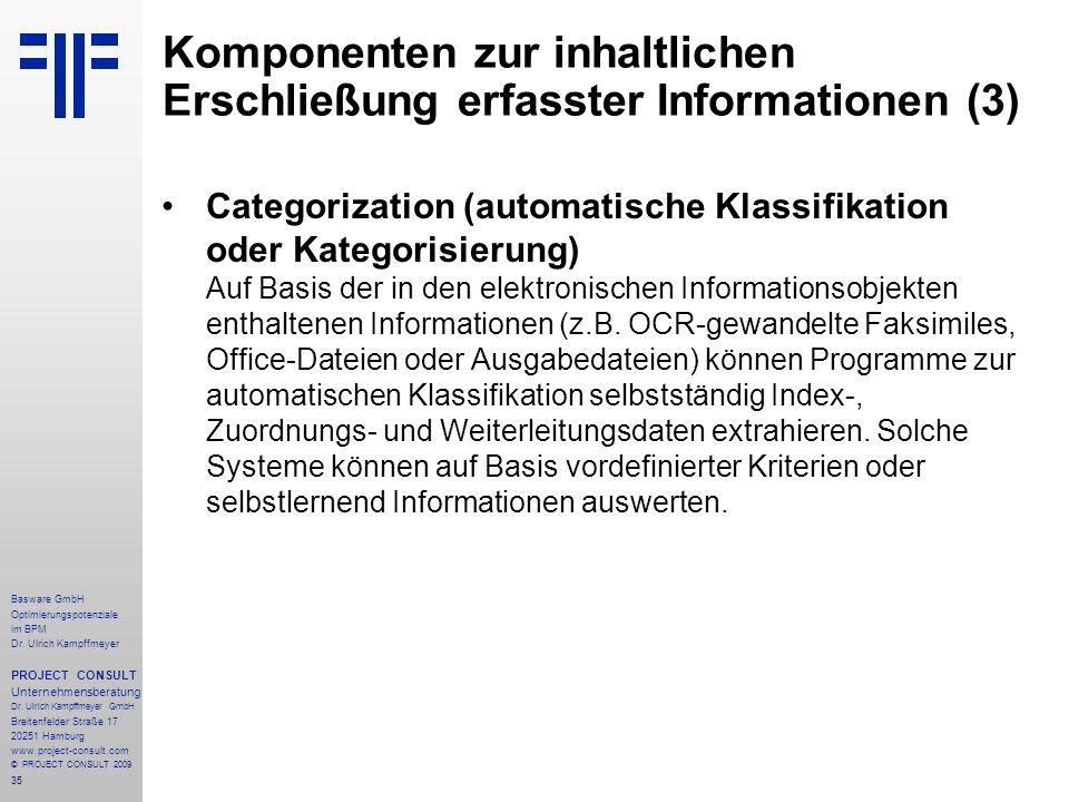 35 Basware GmbH Optimierungspotenziale im BPM Dr.