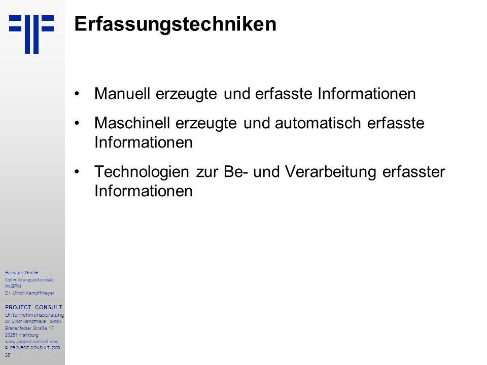 36 Basware GmbH Optimierungspotenziale im BPM Dr.