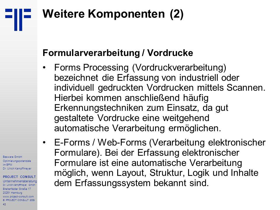 43 Basware GmbH Optimierungspotenziale im BPM Dr.