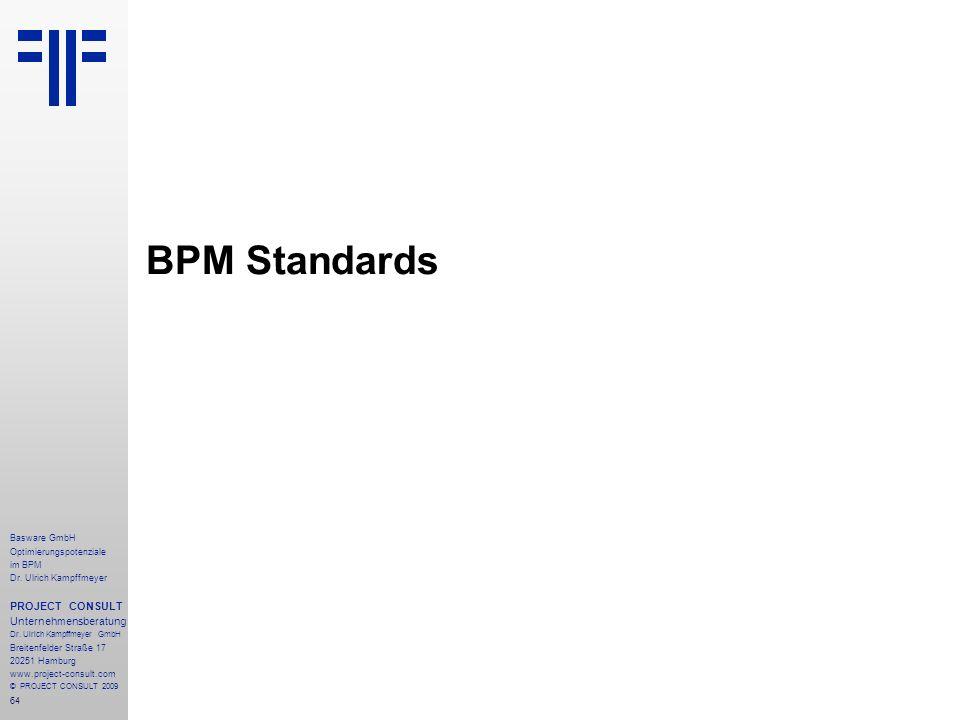 64 Basware GmbH Optimierungspotenziale im BPM Dr.