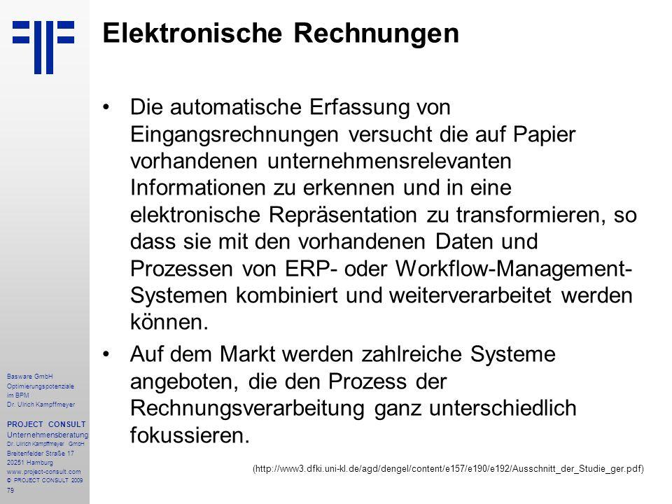 79 Basware GmbH Optimierungspotenziale im BPM Dr.