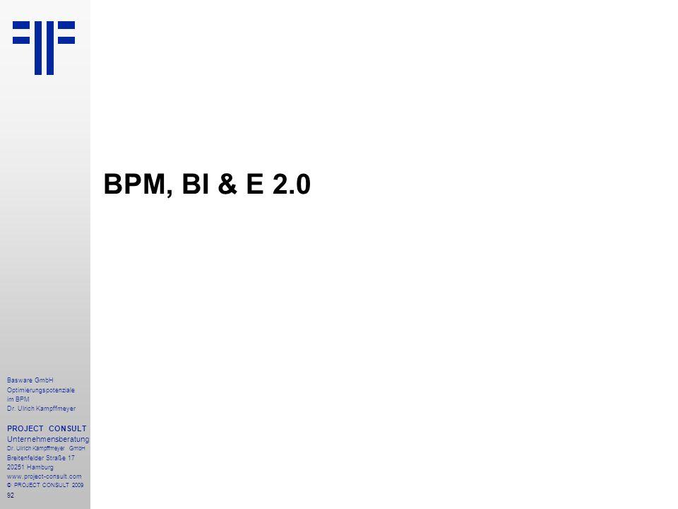 92 Basware GmbH Optimierungspotenziale im BPM Dr.