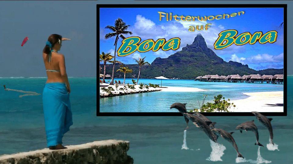 Bora Bora ist ein Atoll, das zur Gruppe der Gesellschaftsinseln in Französisch -Polynesien, genauer zu den Inseln unter dem Winde, im Süd-Pazifik gehö
