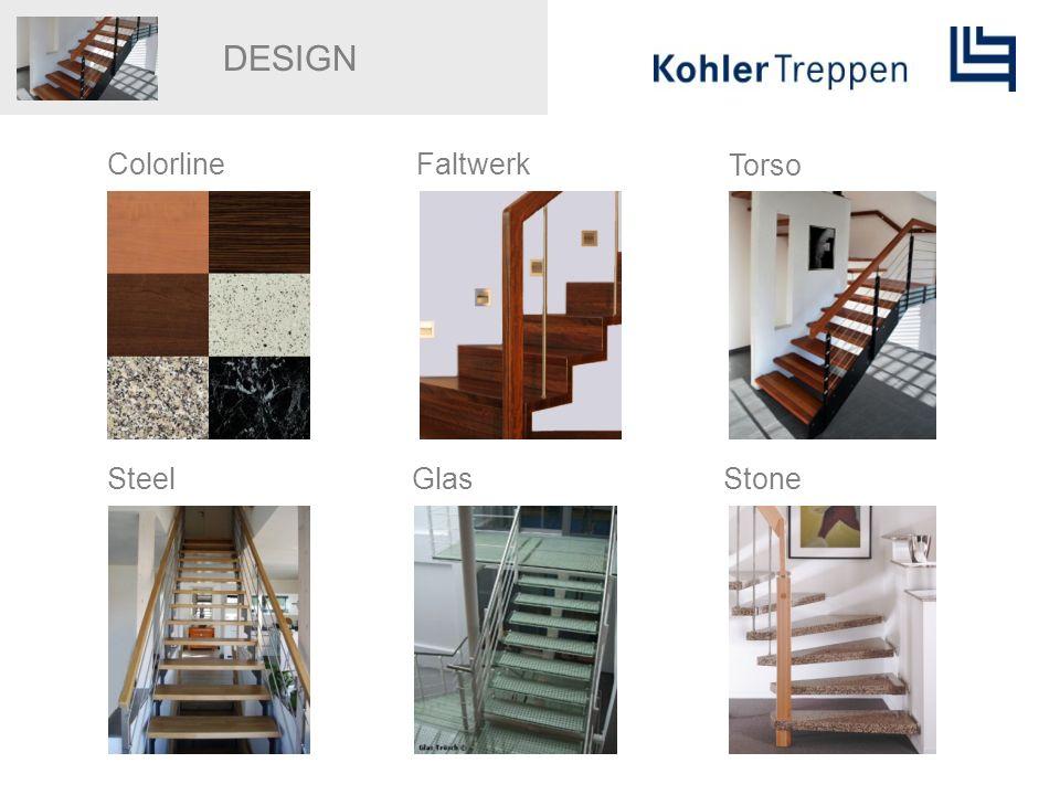 DESIGN ColorlineFaltwerk Torso SteelGlasStone