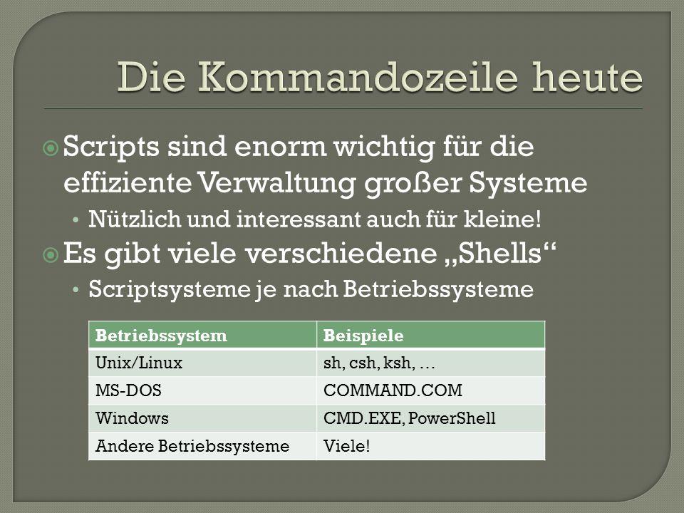 Was.Die Microsoft Windows PowerShell 2.0 Warum.