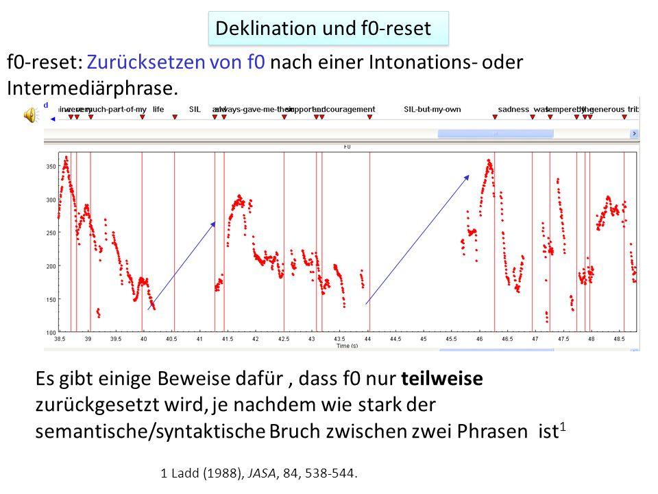 Herman (2000): finale Senkung dient vielleicht dazu, ein Thema abzuschließen (NB daher dann nicht nur physiologisch bedingt). Finale Senkung 1. Herman