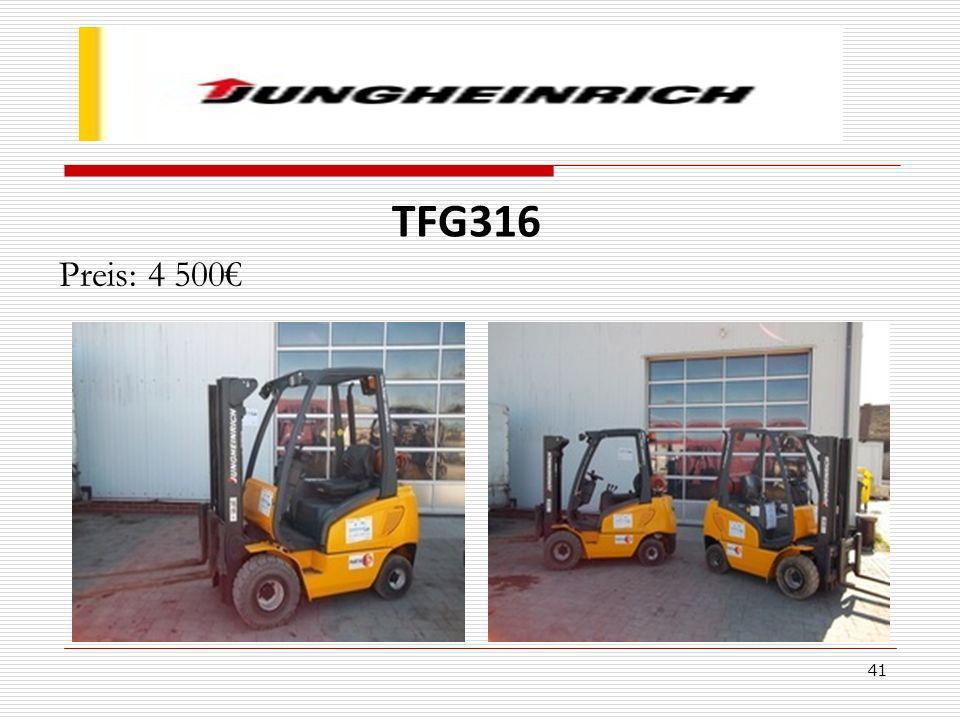 41 TFG316 Preis: 4 500