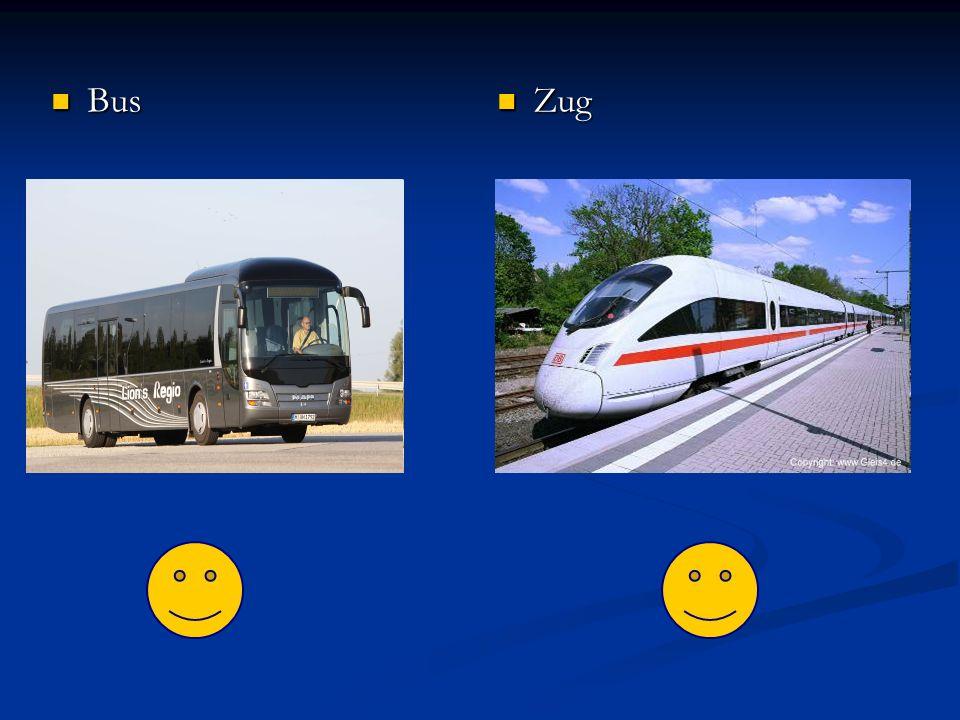 Bus Bus Zug