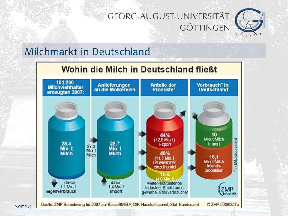 Seite 4 Milchmarkt in Deutschland