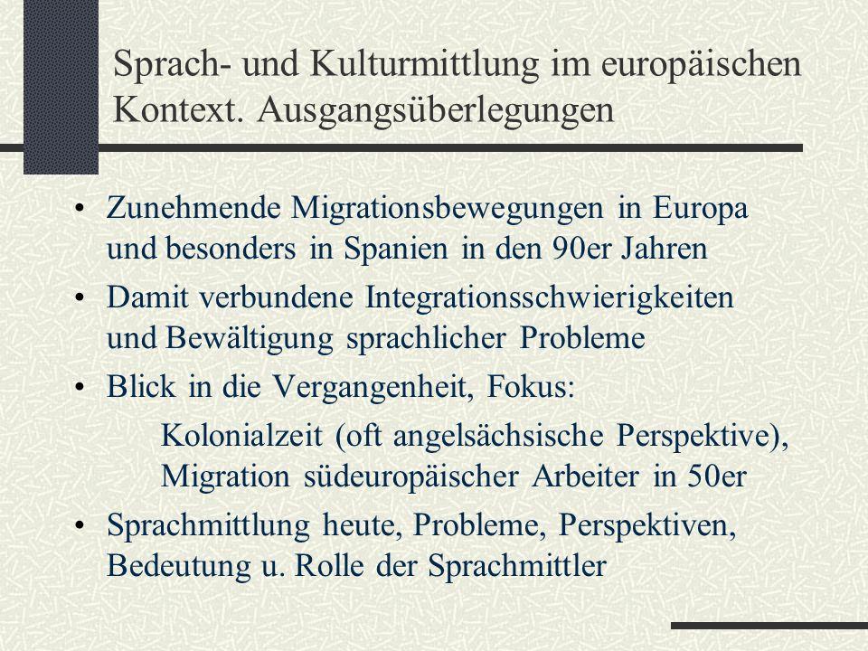 Sprach- und Kulturmittlung im europäischen Kontext.