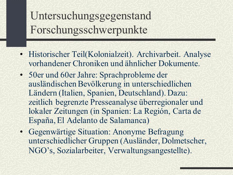 Befragte Gruppe in Deutschland: Welche Eigenschaften sind Ihnen bei einem Sprachmittler besonders wichtig??
