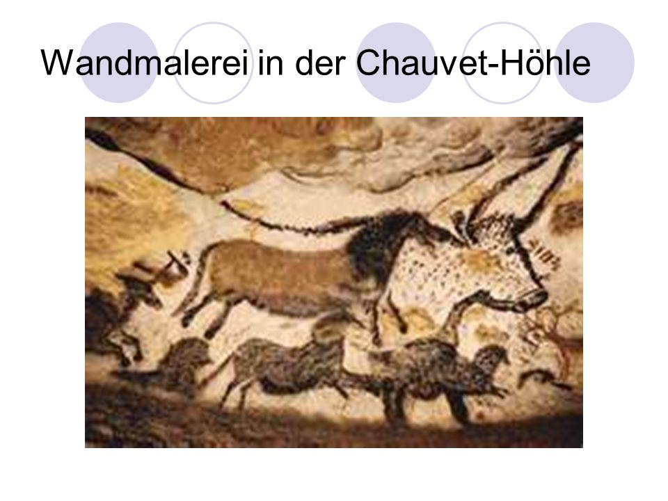 Wandmalerei in der Chauvet-Höhle