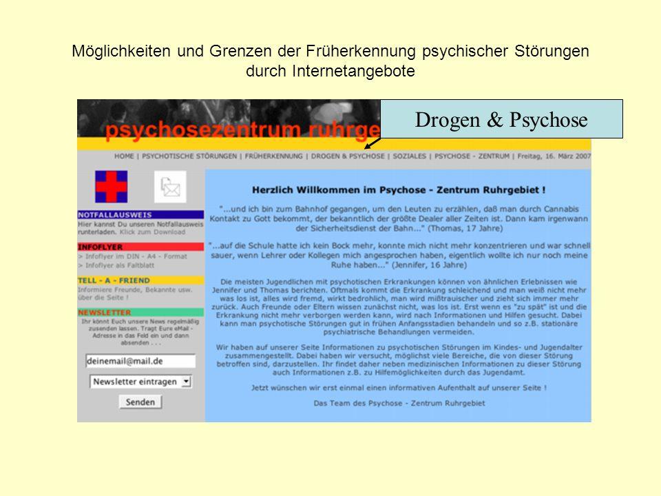 Drogen & Psychose