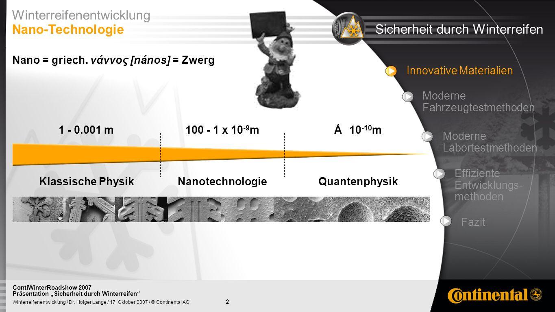 3 Winterreifenentwicklung / Dr.Holger Lange / 17.