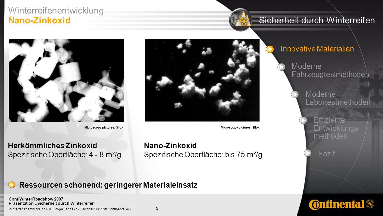 14 Winterreifenentwicklung / Dr.Holger Lange / 17.