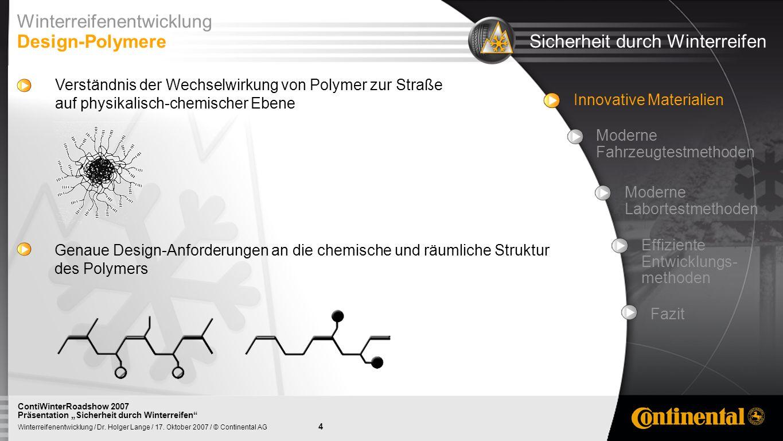 25 Winterreifenentwicklung / Dr.Holger Lange / 17.