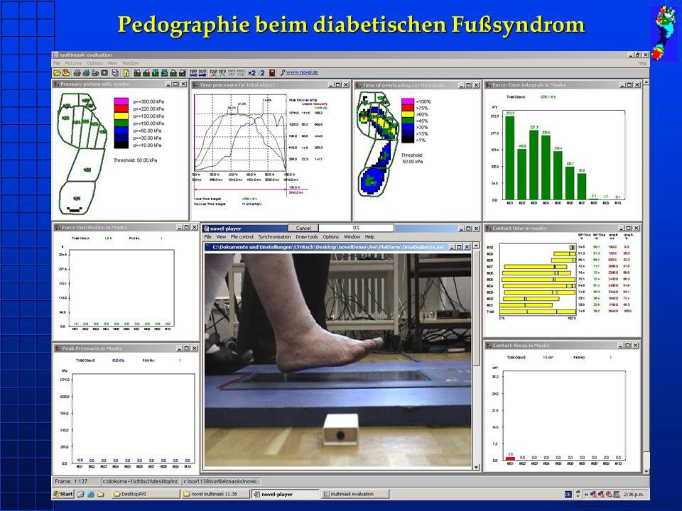 Copyright novel München 2004 Pedographie beim diabetischen Fußsyndrom