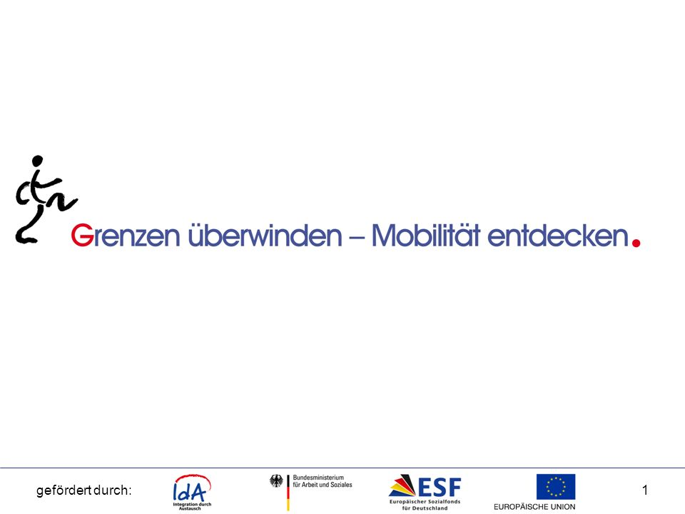 gefördert durch:2 IdA – Integration durch Austausch Was können die Teilnehmer von diesem Programm erwarten.