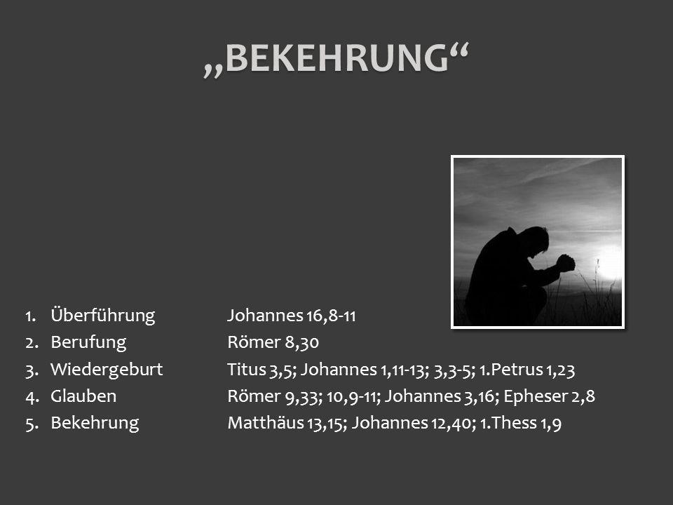Römer 8,1-39 Vers 1Keine Verurteilung Vers 2-8Vom Gesetz befreit Vers 9-13das göttliche Wesen im Menschen Vers 14-17Erbe Gottes Vers 28-29Anteil an seiner Herrlichkeit Vers 30-33 Gott verwirklicht sein Ziel Vers 34Auf ewig garantiert Vers 35-39Nichts kann uns trennen DIE SICHERHEIT DES EWIGEN HEILS