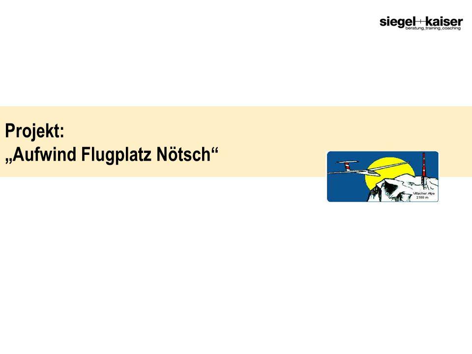Projekt: Aufwind Flugplatz Nötsch