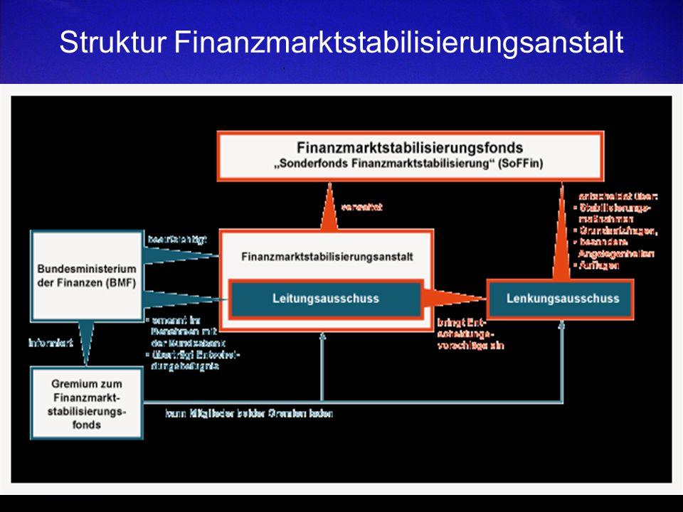 Struktur Finanzmarktstabilisierungsanstalt
