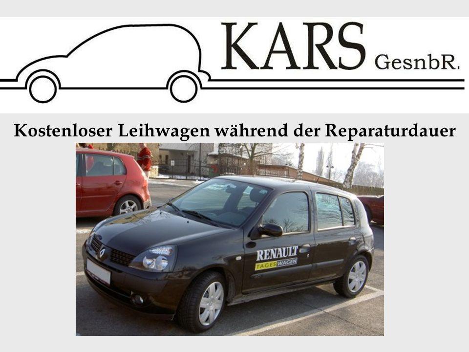Sondermöglichkeiten durch KARS Reparatur von versicherungsmäßigen Totalschäden Kostengünstige Dienstleistungen wie z.B.