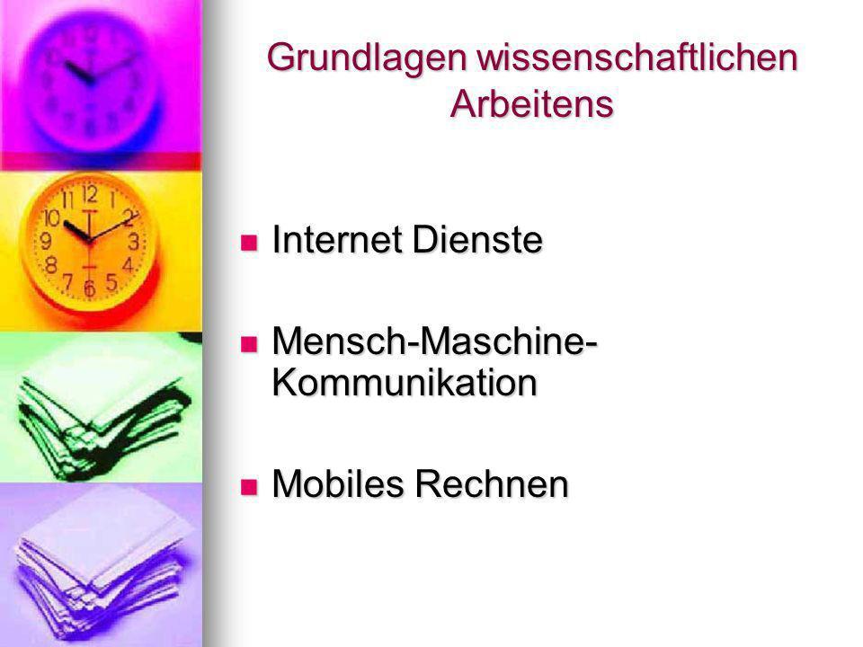 Internet Dienste