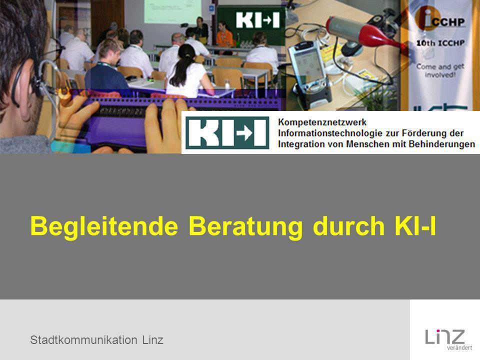 Stadtkommunikation Linz Begleitende Beratung durch KI-I