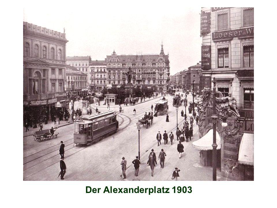 Der Alexanderplatz 1903