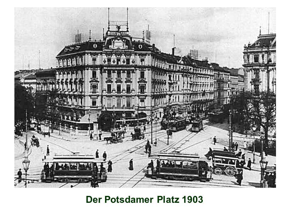 Der Potsdamer Platz 1903