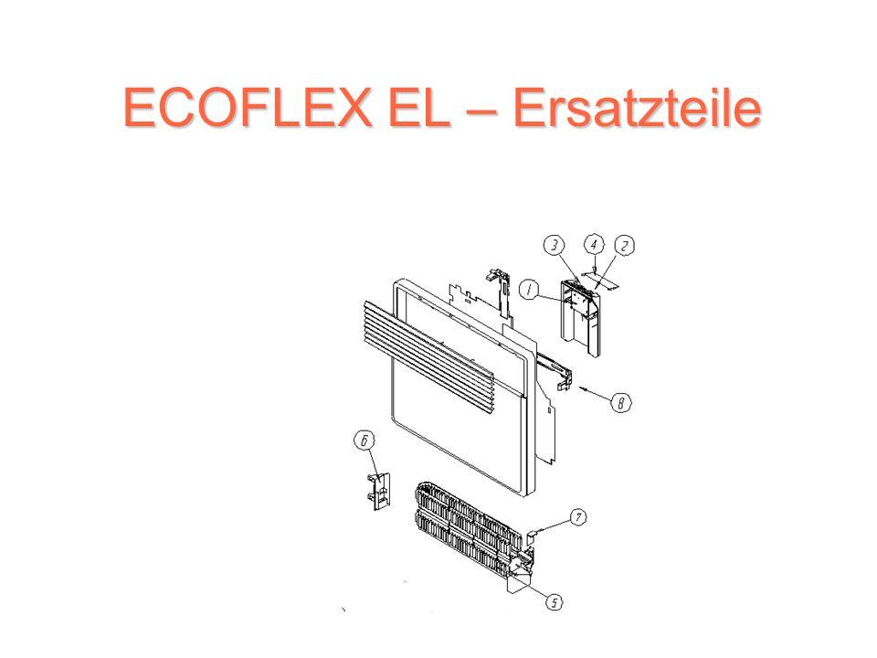 Reihe ECOFLEX EL ECOFLEX EL (TYP TACTIC ET ) (TYP TACTIC ET ) TACTICET 500 W TACTICET 750 W TACTICET 1000 W TACTICET 1250 W TACTICET 1500 W TACTICET 1750 W TACTICET 2000 W