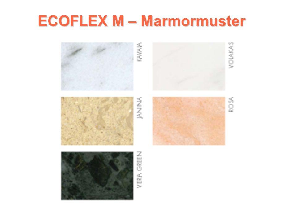 ECOFLEX M ECOFLEX M Marmorkonvektor 1 Reihe: Horizontale Ausführung Steuereinheit an der Oberseite des Körpers angebracht elektronischer Thermostat