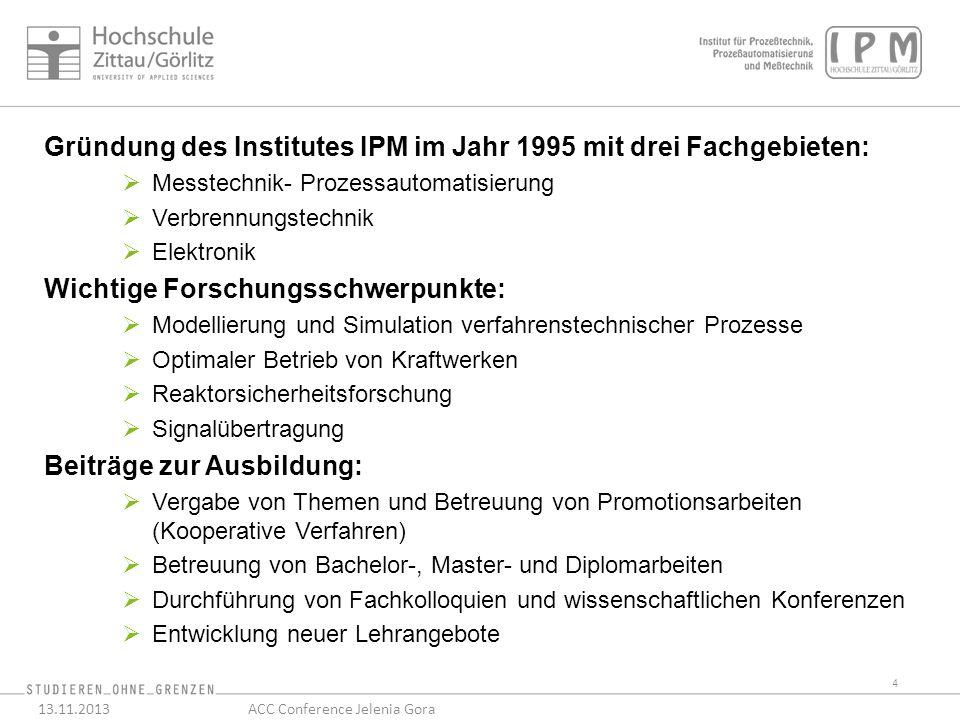 25 13.11.2013ACC Conference Jelenia Gora Großversuchsanlage am IPM für AML-Dampfturbinen (Siemens) Siemens intern