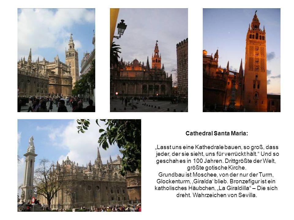 Cathedral Santa Maria: Lasst uns eine Kathedrale bauen, so groß, dass jeder, der sie sieht, uns für verrückt hält.