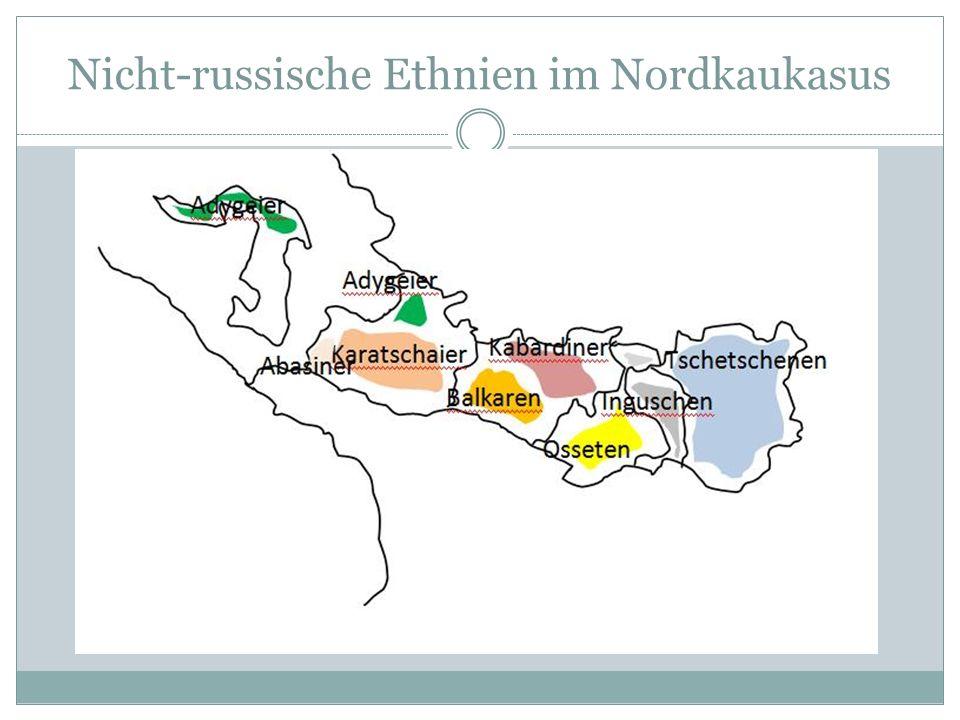 Nicht-russische Ethnien im Nordkaukasus
